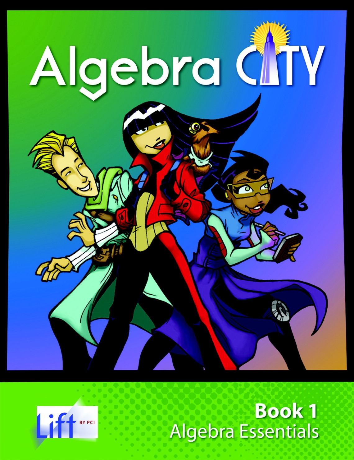 Pci Educational Publishing Algebra City Student Edition Resource Set; 1 Student Login; Set Of 4 - 1480683 - Special Populations Children Special Needs Gaint Leap Sensory Resources Books 1480683