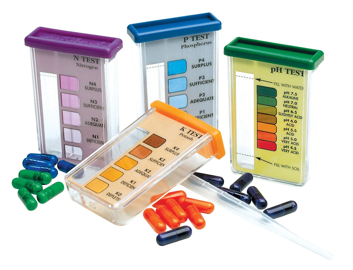 Rapitest Soil Test Kit - 579140 - Instructional Materials Resources Science Activities Equipment Physical Science Projects Books 579140