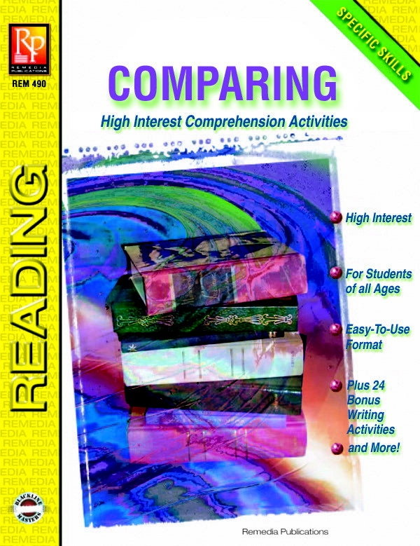 Toys Educational Toys Reading Toys - 070832 - Remedia Publications Specific Skills Comprehension Reading Activity Books 070832