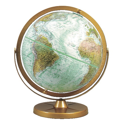 Replogle Atlantis Physical Globe - 569933 - Instructional Materials Resources Science Activities Equipment Physical Science Projects Books 569933