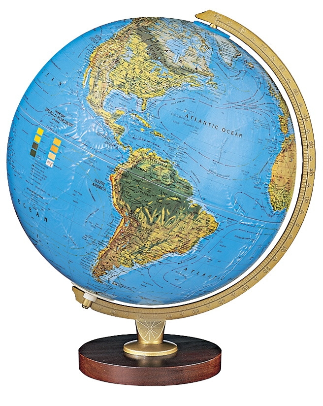 Replogle Livingston Physical/political Globe - 1015090 - Instructional Materials Resources Science Activities Equipment Physical Science Projects Books 1015090