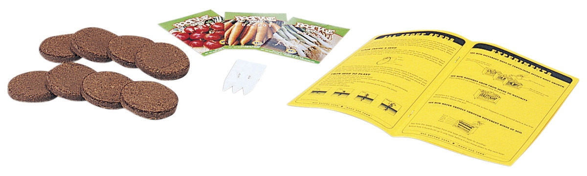 Root-vue Farm-accessory Kit - 344030 - Instructional Materials Resources Science Activities Equipment Physical Science Projects Books 344030