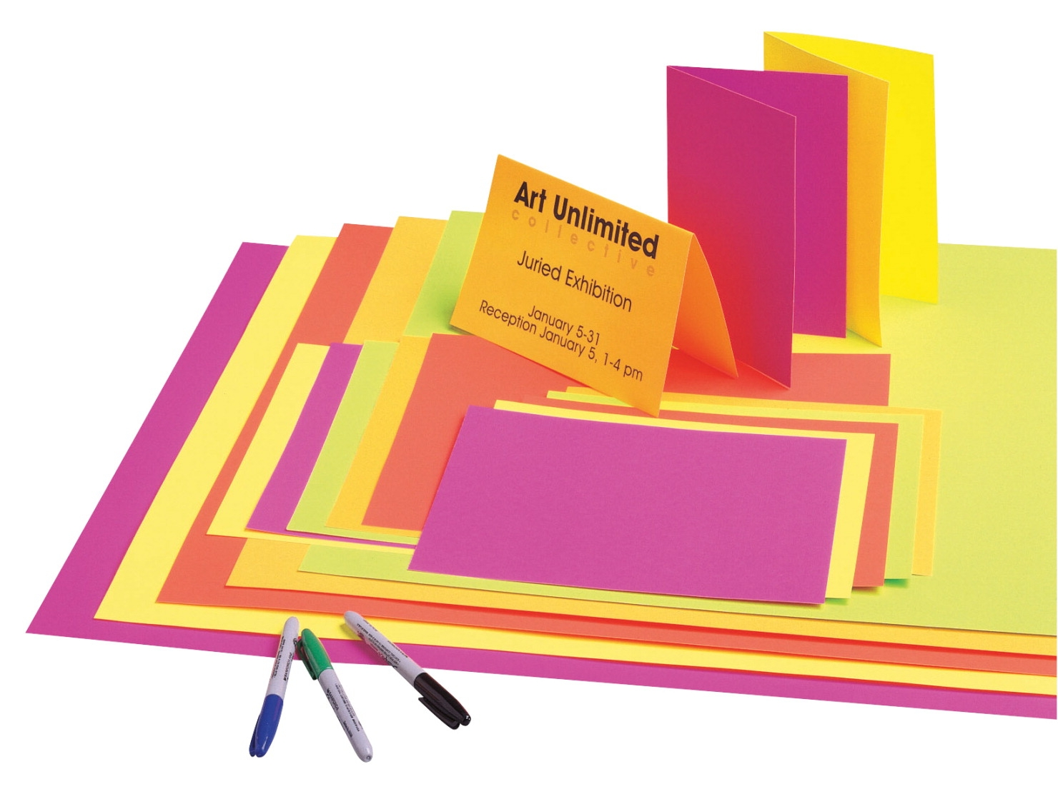 School Smart Poster Board; 22 X 28 In; 12 Point Thickness; Assorted Fluorescent Color; Pack Of 50 - 085560 - Track And Field High Jump Vaulting Value Packs 085560