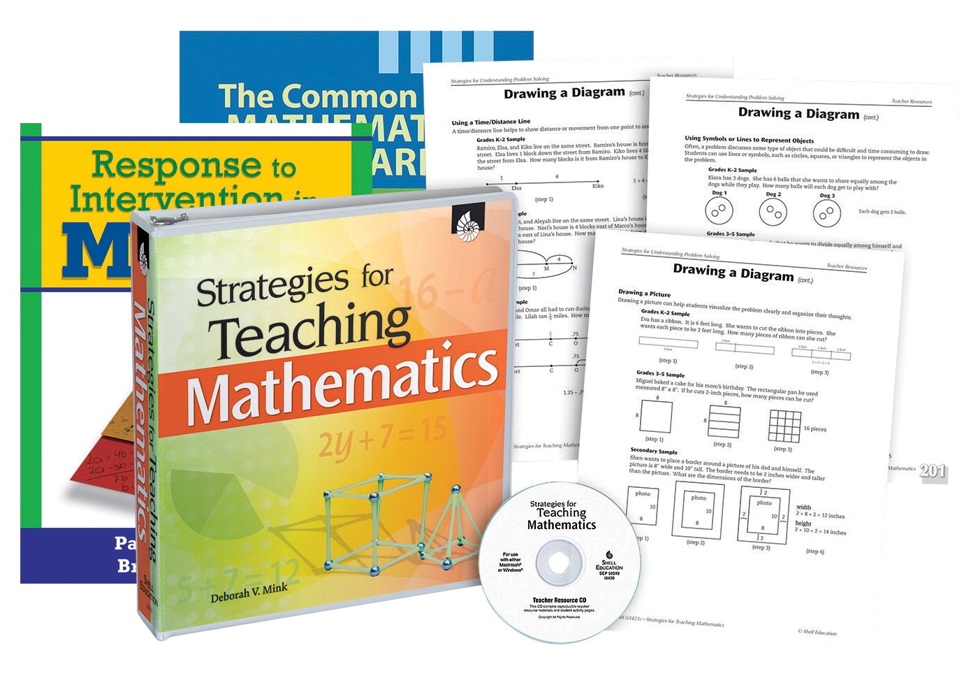 School Specialty Common Core Differentiation Resources For Math Pd Resource Kit - 1458351 - Instructional Materials Resources Science Activities Equipment Physical Science Projects Books 1458351