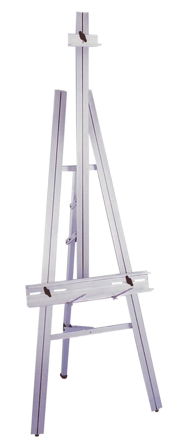 School Specialty Durable Lightweight Superior Artist Easel; 86 In H X 20 In D X 24 In; Aluminum - 230910 - Toys Easels And Drying Racks 230910