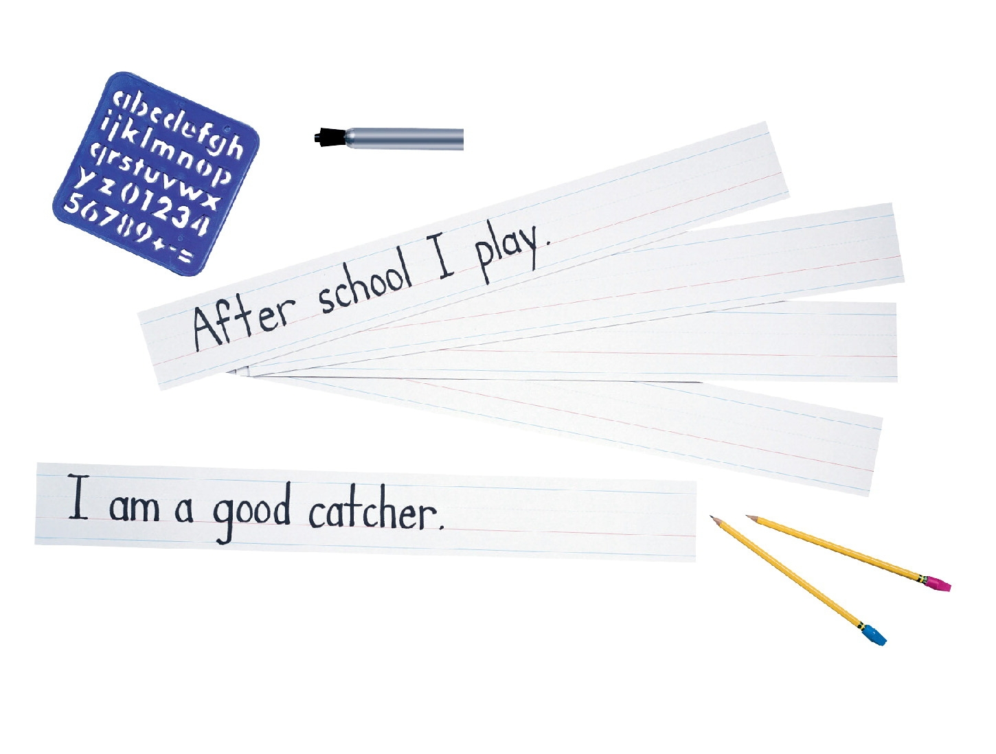 Special Needs Special Needs School Smart Money Kit & Math Product - 085288 - School Specialty Sentence Strips Zaner-bloser Style; 3 X 24 Inches; White; 100 Sheets 085288
