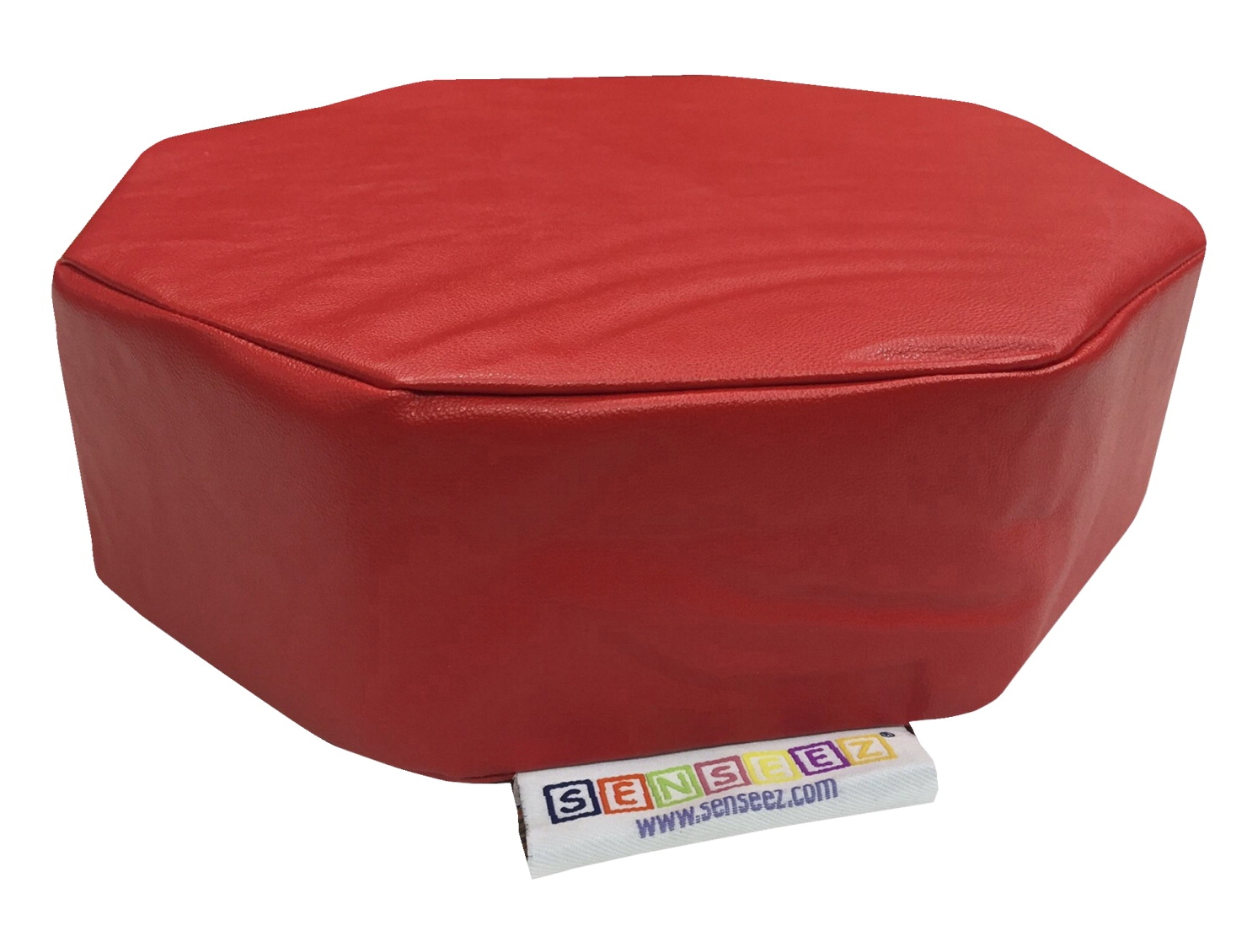 Senseez Vibrating Pillow; Red Octagon - 1580341 - Special Needs Sensory Processing Multi Sensory 1580341