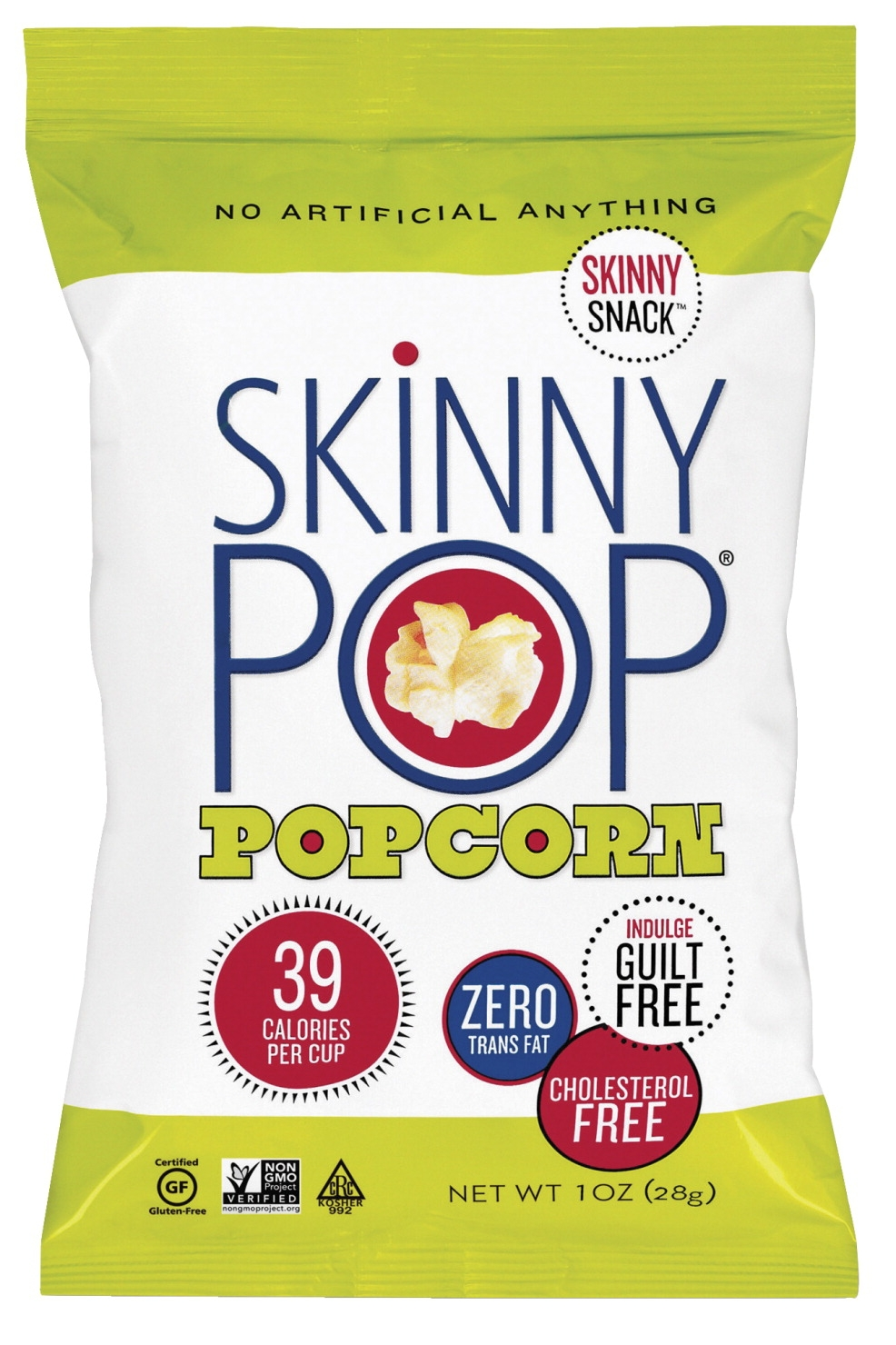 Skinny Popcorn Skinny Pop Popcorn; 1 Oz; Multi; Pack Of 12 - 1561929 - Facilities Management Facility Supplies Foodservice 1561929