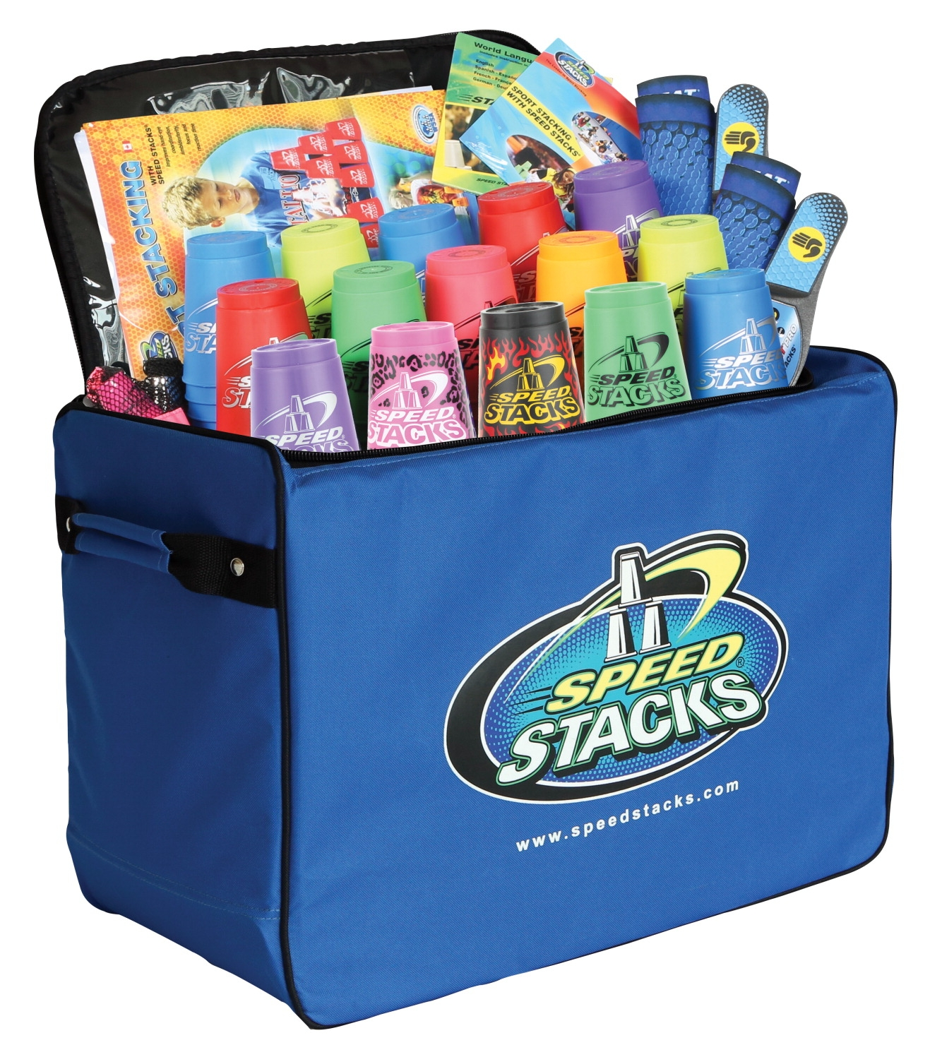 Speed Stacks Sport Pack; 15 Sets - 018522 - Physical Education Sport Fitness Equipment Accessories Fitness Games 018522