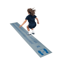 Sportime 22 X 144 In Explosive Standing Long Jump Test Mat With 3/8 In Thickness - 013015 - Track And Field High Jump Jump Training Aids 013015