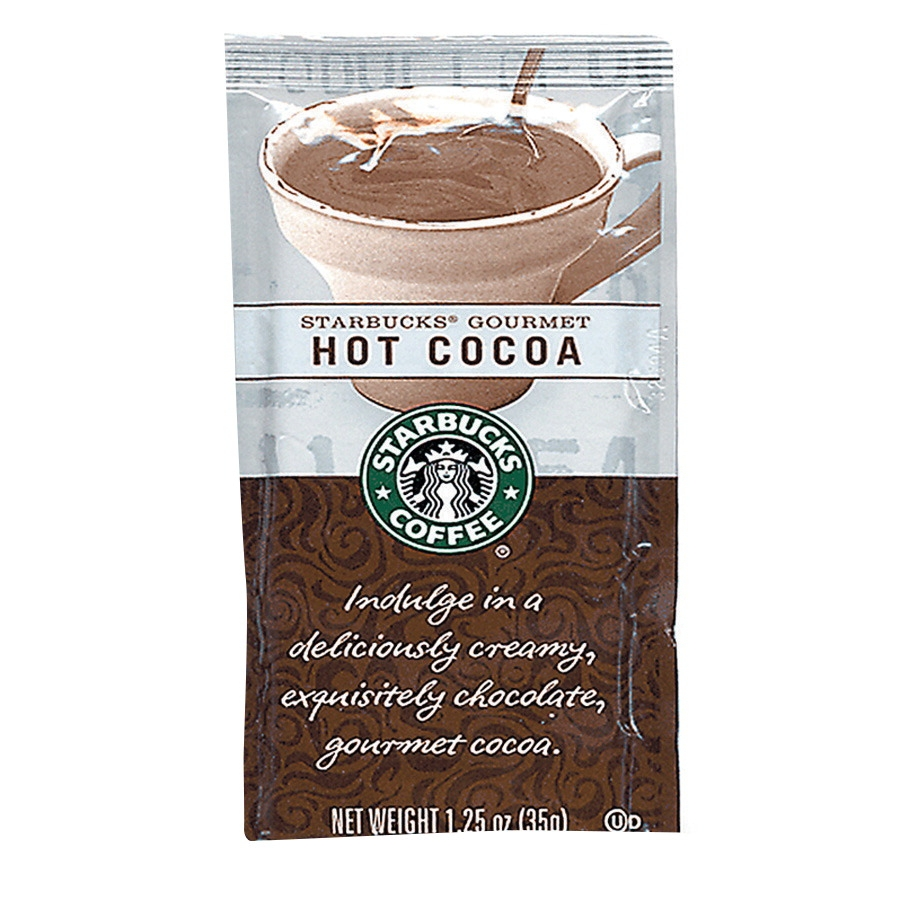 Starbucks Single-serving Gourmet Hot Cocoa; 1.25 Oz; Pack Of 24 - 1313437 - Facilities Management Facility Supplies Foodservice 1313437