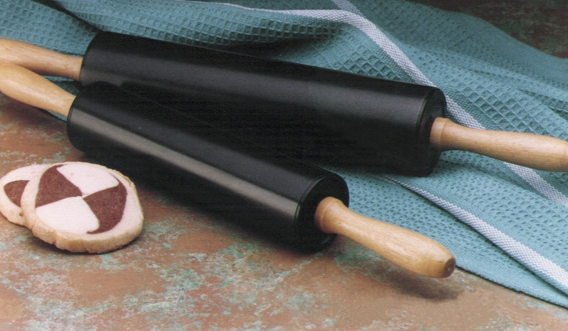 Toys Pretend Play Toy Kitchens & Play Food - 429764 - Sunbeam Non-stick Rolling Pin; 18 W In; Hardwood Handle; Black 429764