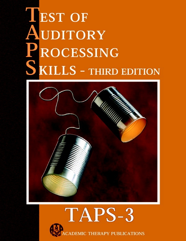 Taps-3 Test Of Auditory Processing Skills-3rd Edition Extra Test Booklet; Pack Of 25 - 028234 - Special Needs Sensory Processing Multi Sensory 028234