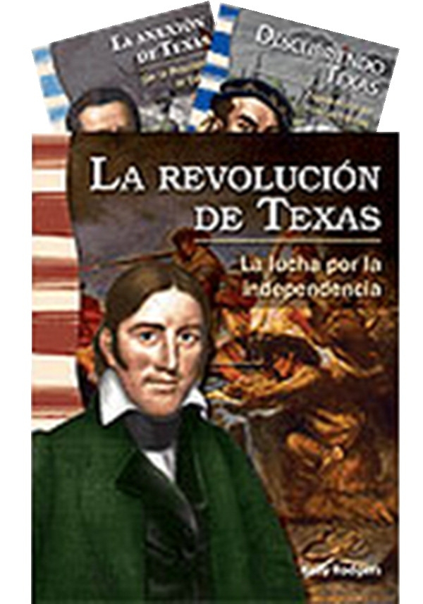 Teacher Created Materials Thestate Of Texas Spanish Book Set; Grade 4-5; Set Of 8 - 1515532 - Instructional Materials Resources Science Activities Equipment Physical Science Projects Books 1515532