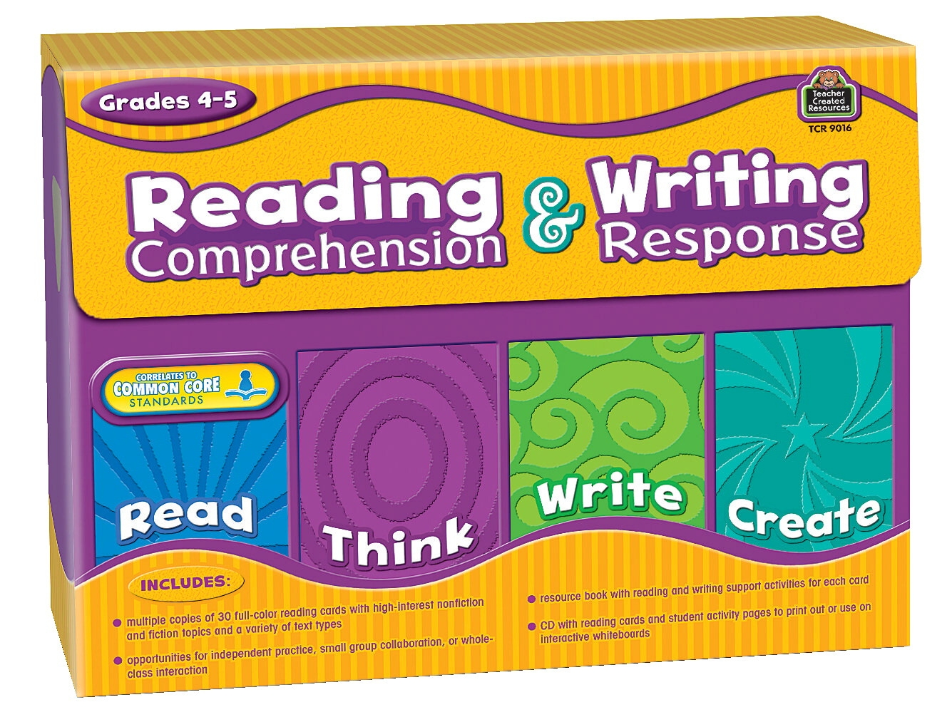 Teacher Created Resources Reading Comprehension & Writing Response; Gr. 4 To 5 - 1568060 - Instructional Materials Resources Science Activities Equipment Physical Science Projects Books 1568060