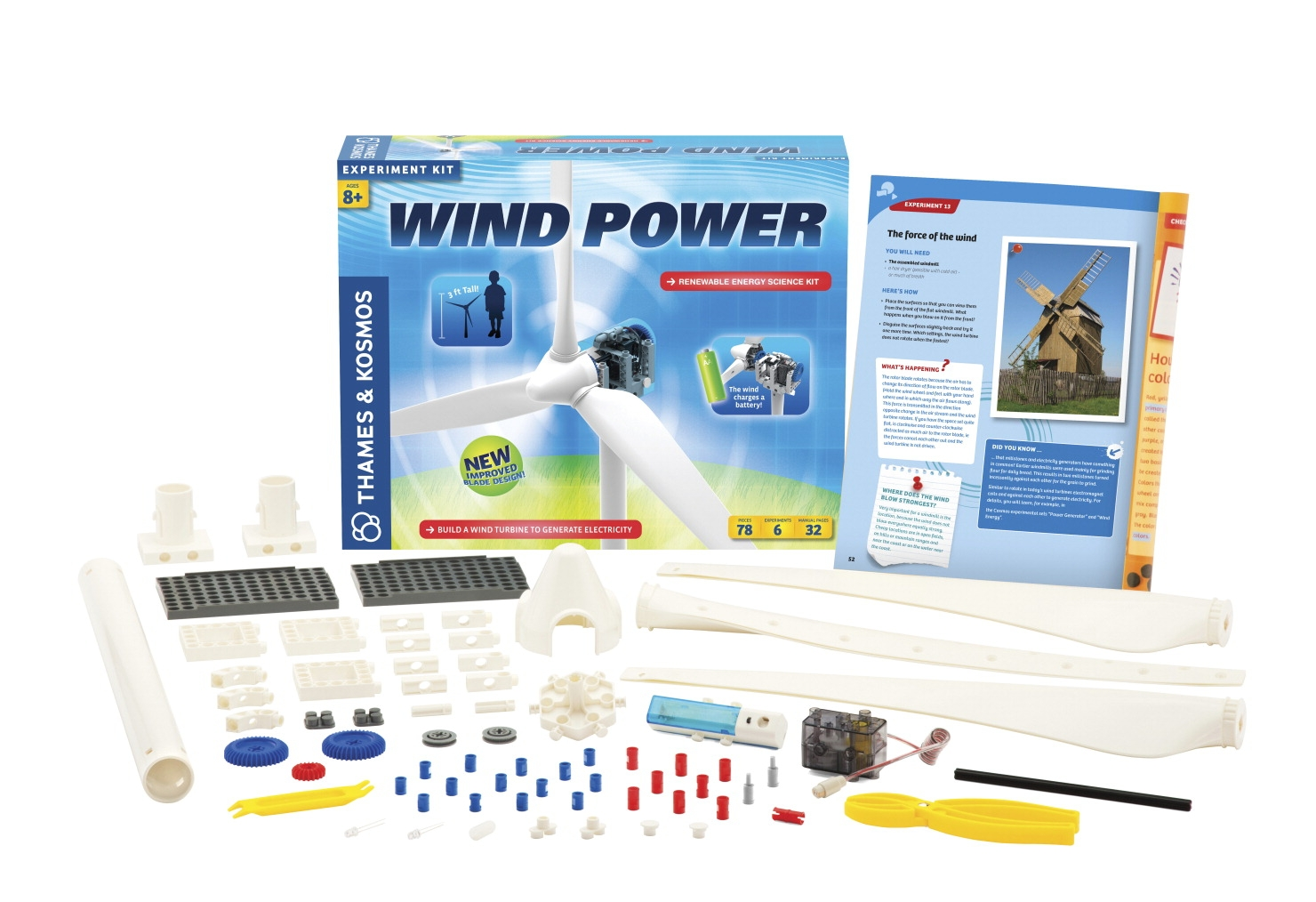 Facilities Management Medical Green Line And Auxiliary Exam Pediatric Tables - 1539109 - Thames And Kosmos Wind Power Kit 1539109