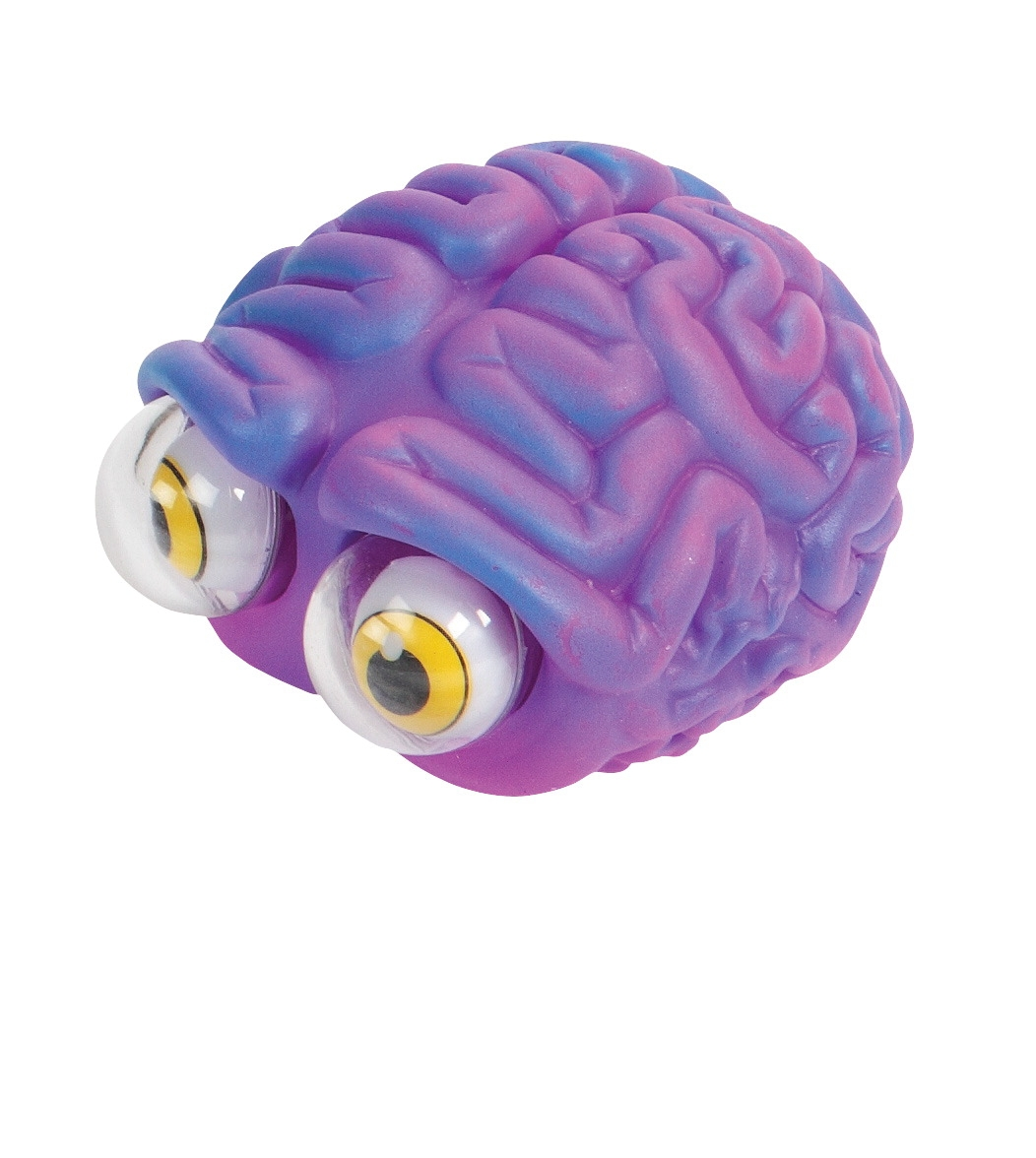 Toys Fine Motor Dressing Tools - 1361961 - Warm Fuzzy Toys Poppin' Peeper Brain Fidget Toy; 3 Inches 1361961
