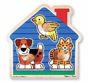 House Pets Puzzle - Mad 2055 - Collegiate Sports Ncaa College Tufts Tufts Jumbos Toys Games Puzzles Games MAD 2055