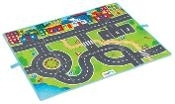 Viking City Playmat With Cars - Aw5202-intplay - Collegiate Sports Ncaa College Valley City State Vcsu Vikings Playmats AW5202-INTPLAY