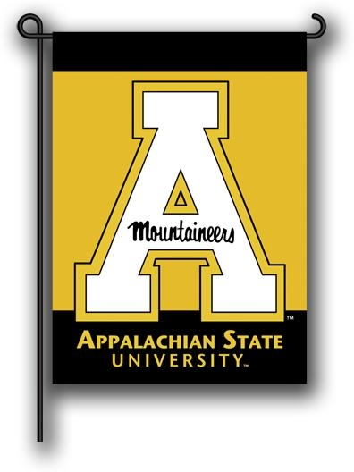 Appalachian St. 2-sided Garden Flag - 83076 - Collegiate Sports Ncaa College Appalachian State Asu Mountaineers 2sided Garden Flags 83076