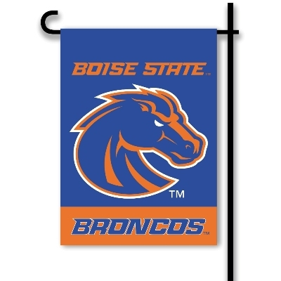 Collegiate Sports Ncaa College Boise State Bois Broncos 2sided Garden Flags - 83180 - Boise State 2-sided Garden Flag 83180