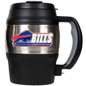 Football Nfl Football Buffalo Bills Tumblers And Pint Glasses - 75423 - Buffalo Bills 20 Oz Thermal Jug 75423