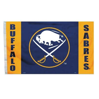 Buffalo Sabres 3 X 5 Flag - 84209b - Football Nfl Football Buffalo Bills Tumblers And Pint Glasses 84209B