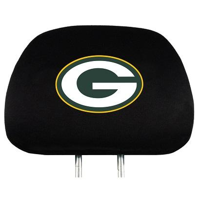 Football Nfl Football Green Bay Packers Tumblers And Pint Glasses - 82616 - Green Bay Packers Set Of 2 Headrest Covers 82616