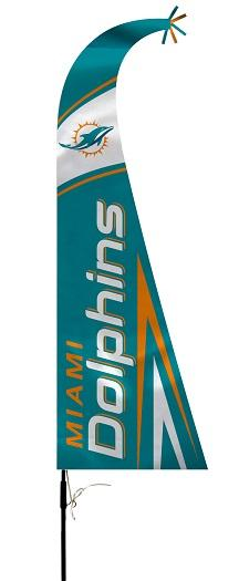 Football Nfl Football Miami Dolphins Feather Flags - 92637b - Miami Dolphins Feather Flag 92637B