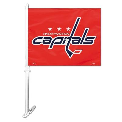Washington Capitals Car Flag - 88907 - Collegiate Sports Ncaa College Capital Capital Crusaders Car Flags 88907