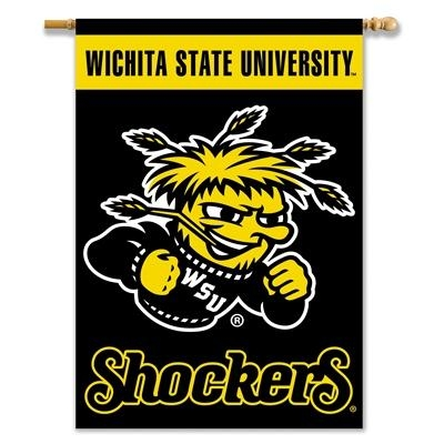 Wichita State Shockers 28x40 House Banner - 96090 - Toys Doll Houses And Accessories 96090