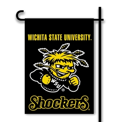 Wichita State Shockers Two Sided Garden Flag - 83090 - Football Association Football Three Sided Football 83090