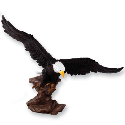 13 X 16 Hand Painted Eagle - X8704 - Awards Trophy Eagles Without Plates X8704