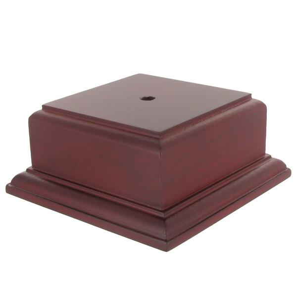 2-1/8 X 3-1/2 Rosewood Finish Base For Bowl Or Cup - Xu3171ro - Awards Trophies XU3171RO