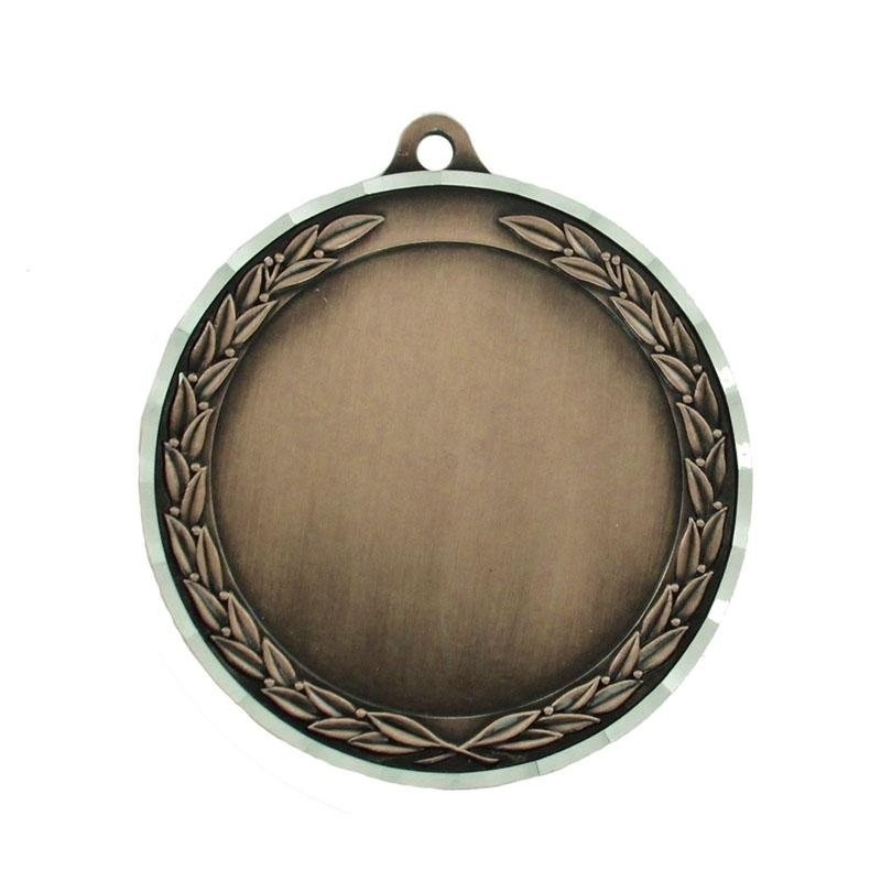2-3/4 Inch Die Cast Antique Bronze Holds 2 Insert - M182b - Award Medals Medal Frame Takes Inserts M182B