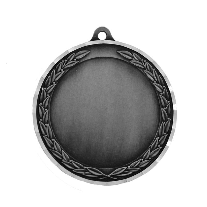 2-3/4 Inch Die Cast Antique Silver Holds 2 Insert - M182s - Award Medals Medal Frame Takes Inserts M182S