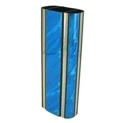 2-3/4 Inch Oval Plastic Splash Series Trophy Column; Blue - X9506bl - Trophies And Awards Component Parts X9506BL