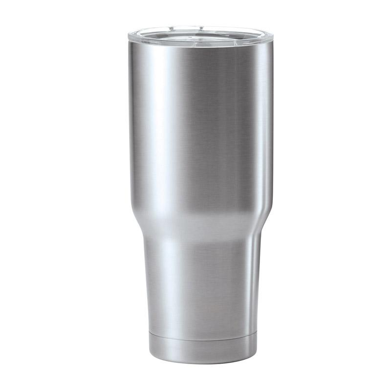 30 Ounce Stainless Steel Double Wall Travel Mug Tumbler - Hw632 - Trophies And Awards Personalized Mugs; Aluminum And Ceramic Glass HW632