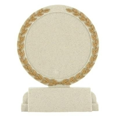 Tennis Trophies & Awards Trophies - X9264 - 5-1/2 Inch Stone Resin Trophy Plain Center X9264