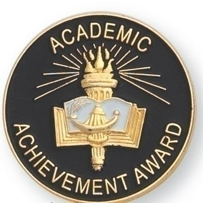 Academic Achievement Award Pin - Br541 - Tennis Trophies & Awards Awards BR541