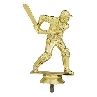 Cricket Trophy Figure - F28977g - Sports Figures And Risers Plastic Sport F28977G