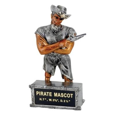 Pirate Mascot Trophy - Mt2016 - Tennis Trophies & Awards Trophies MT2016