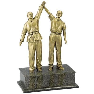 Resin Martial Arts Trophy - X8987 - Tennis Trophies & Awards Trophies X8987
