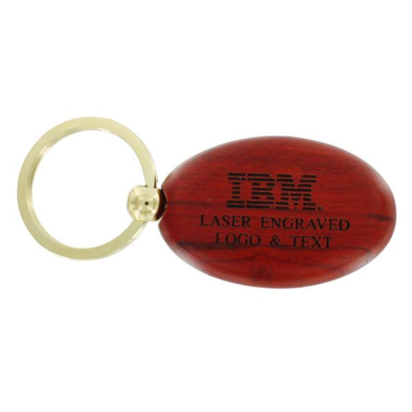 Rosewood Key Chain - Jm187 - Trophies And Awards Chains JM187