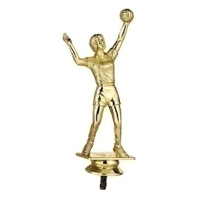 Volleyball Female Trophy Figure - F29224g - Sports Figures And Risers Plastic Sport F29224G