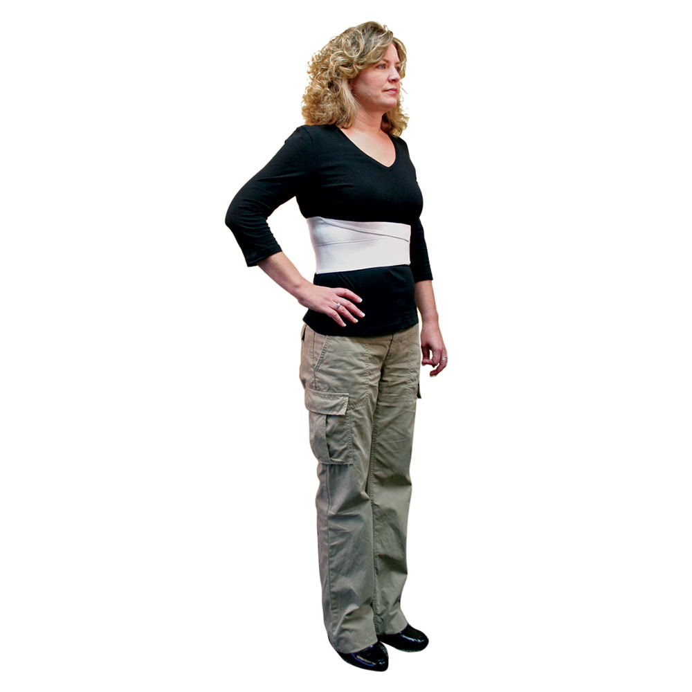 Core Female Elastic Rib Support;non Sterile Latex Free Reusable;medium - Cor286med - Health Care Abdominal And Groin Support COR286MED