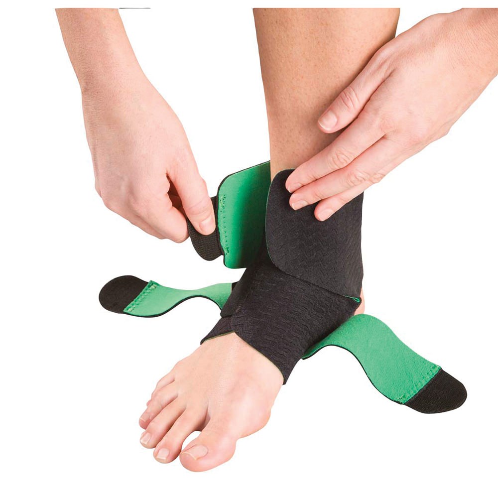 Mueller Green Adjustable Ankle Support One Size Fits Most - Msm100 - Health Care Body Part Knee And Leg Braces And Supports MSM100
