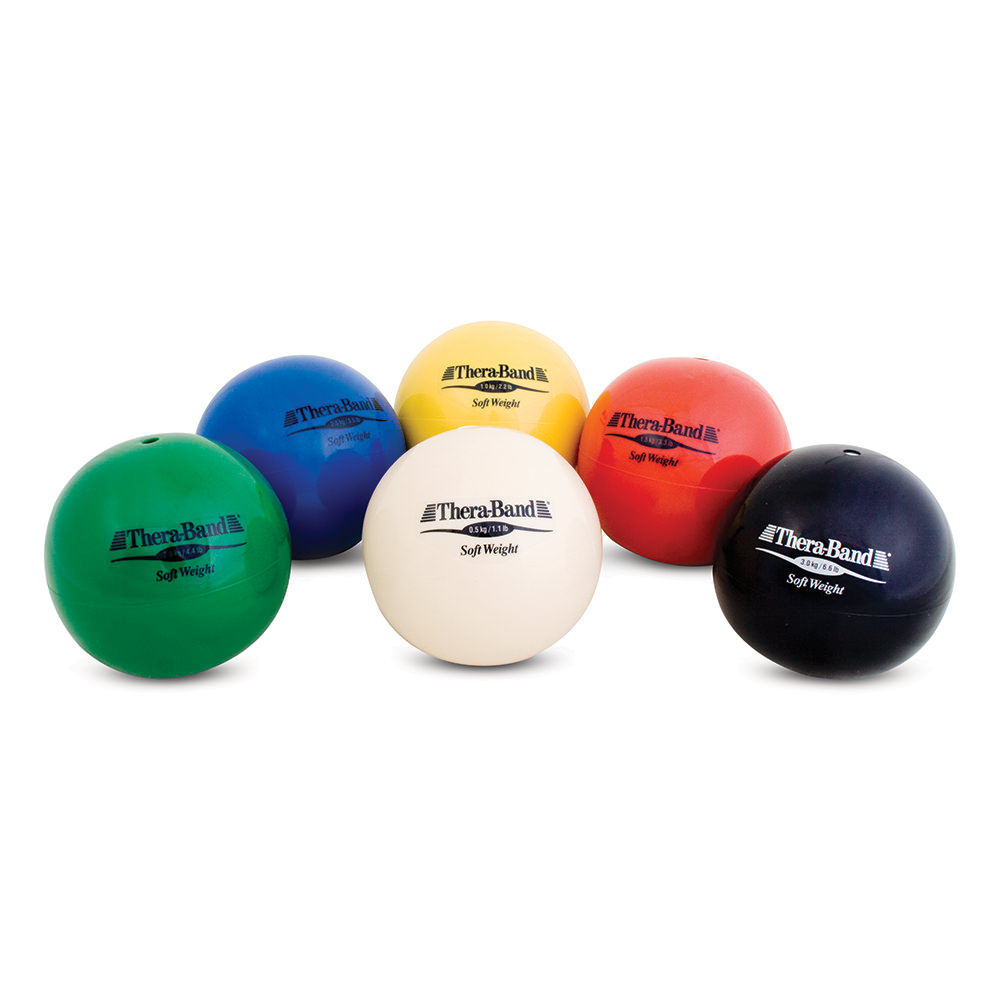 Thera Band Sofeet Weights 6/set - Hyg207 - Exercise And Fitness Medicine Balls Rehab And Active Care HYG207
