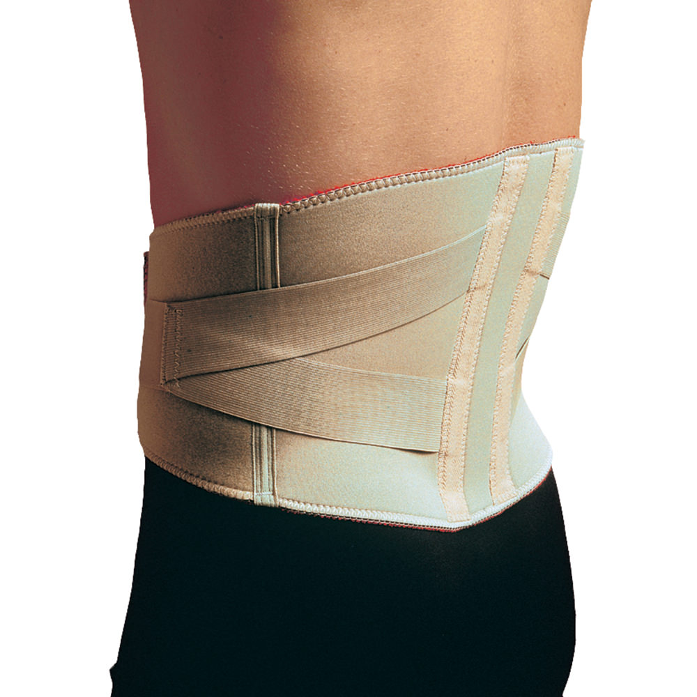 """Thermoskin Lumbar Support With Elastic Straps X Small 23 1/2"""" 27 1/4"""" - Upi103xs - Health Care Supports And Braces Orthopedics UPI103XS"""