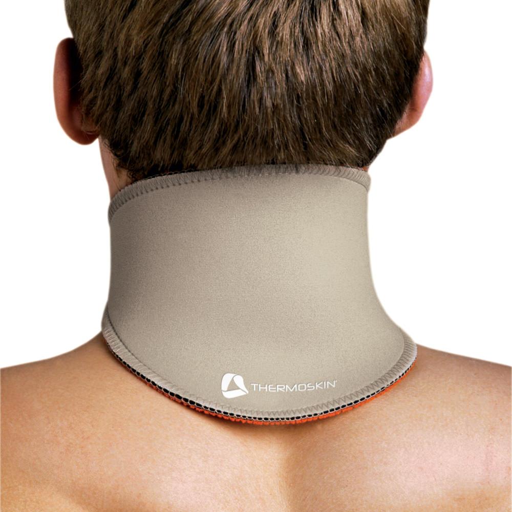 "Thermoskin Neck Short Support Beige X Large 17 1/2"" 19"" - Beige - Upi132xlg - Health Care Supports And Braces Orthopedics UPI132XLG"
